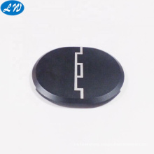 CNC rapid prototype machining black anodized headphone earphone aluminum case