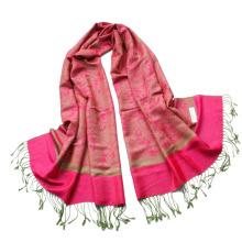 Las señoras vendedoras calientes Viscose Jaquard robaron el mantón largo Echarpe de la bufanda de Hijab