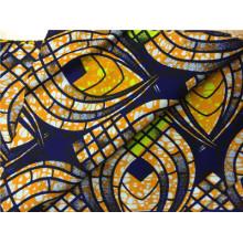 100% Baumwolle afrikanischen Ankara Super Wax Ankara Druck Stoff