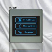 Panel de interior del sistema del timbre del hotel en marco del esquema plástico (SK-dB2300SIN2-S)