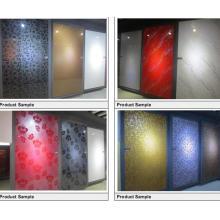 Cartes acryliques brillantes de Foshan Facotry Zh (plus de 100 couleurs à choisir)