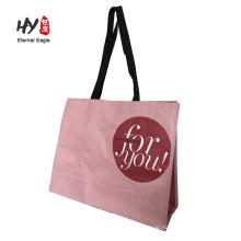 pp. shopping woven tasche