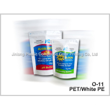 Sac d'emballage chimique avec fermeture à glissière