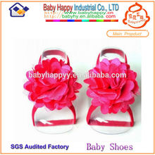 Red high quality pakistani sandals for baby