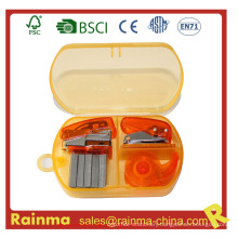 Mini Stapler Set in Plastic Box