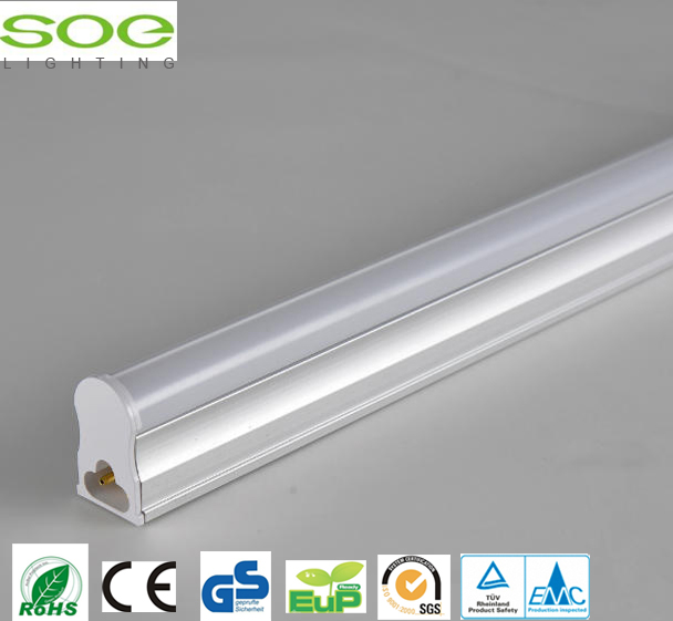 Luce tubo integrato T5 LED quadrato PC