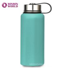 FDA im Freien benutzerdefinierte benutzerdefinierte Edelstahl 18/8 Doppelwand isolierte Wasserflasche