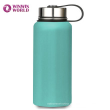 Botella de agua aislada pared de lujo doble del acero inoxidable 18/8 de la FDA al aire libre de lujo