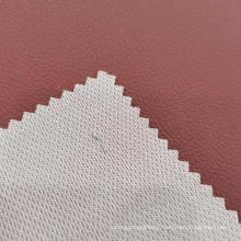 Full Lines 0.7mm PVC Leather With French Terry