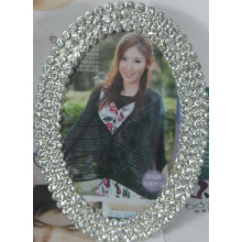 Oval Rhinestone Photo Frame For Wedding