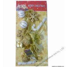 Giftbox Lámina de cuentas Decoración de artesanía de Navidad