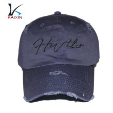 sombrero duro al por mayor barato del viejo estilo usado de 6 paneles de béisbol de ala corta de alta calidad floral
