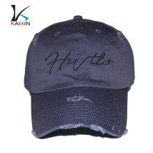 оптовая дешевые старому стилю изношенного 6 панелей brim краткости высокого качества цветочный бейсбол жесткий кепка шляпы