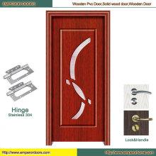 Piel de la puerta de HDF en la puerta de madera del PVC de la puerta