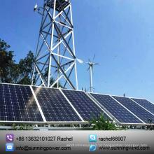 Sistema de energia solar híbrido de vento de 2016 para monitoramento
