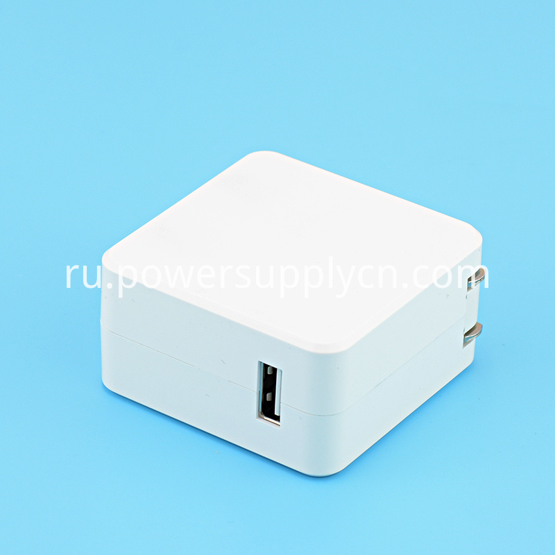Foldable 12V 2A USB Charger