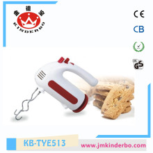 5 Speeds Egg and Cream Hand Blender
