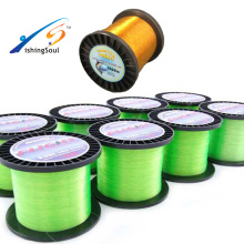MLN103 low water absorption soft round mono asso fishing line