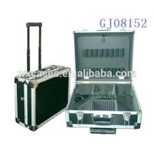 Bandejas plásticas de alta qualidade ferramenta portátil cabinet4 caixa com divisórias removíveis