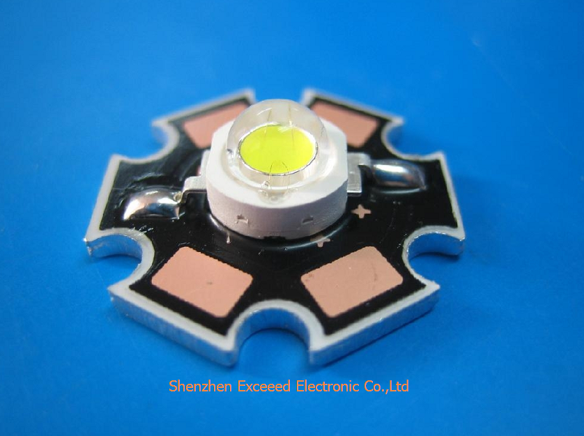 3W Red Color High Power LED Component