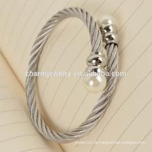 Die beliebtesten Produkte Fashion Bead Edelstahl Armband Schmuck GSL003
