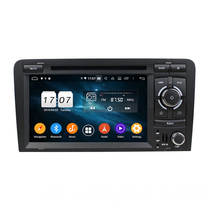A3 auto multimedia dvd player