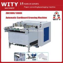 ZDG1000 / 1300II máquina automática de cartón v ranura