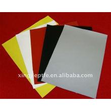 Feuille de tissu en silicone avec plusieurs couleurs