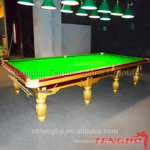 England Stil Antikes Massivholz guten Preis Pool Billard Snooker Tisch