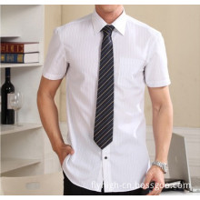 Business Short Sleeve Straight Cotton Men's Shirt