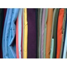 poli / algodón 65/35 80/20 tela para pantalones tela de sarga de algodón pesado