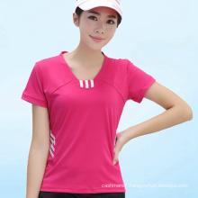 OEM Women Dry Fit T-Shirt Fitness Sport Wear T-Shirts