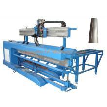 Máquina de soldadura de arco de costura recta de escala de pescado CNC Automic