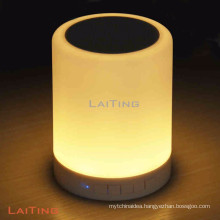 Led modern table lamp fake chandelier bluetooth fairy light lamp