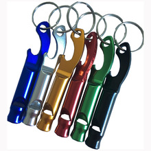 Best Quality for Customized Bottle Opener Whistle Metal Bottle Opener with key chain supply to American Samoa Wholesale