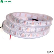 rgb ws2812b 60 leds / m SK6812 ic pixel Digital flexível endereçável programável led tira cor completa
