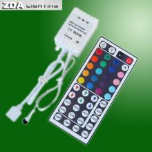 Controlador IR RGB LED de 44 llaves para iluminación LED RGB