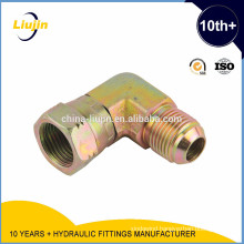 With 10 years experience factory supply male elbow brass flared fitting
