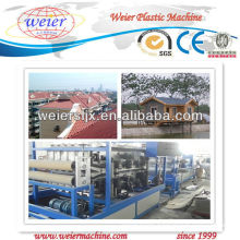 SJSZ-80 PVC Glazed Roof Tile Extrusion Line plastic machinery