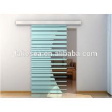Herrajes para puertas correderas de madera / Elegantes orillas para puertas de granero / Accesorios para puertas corredizas de aluminio (LS-RS 002)