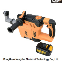 DC Rotary Hammer Power Tool with Dust Collection System (NZ80-01)