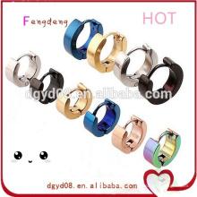 Mode piercing bijoux 316 boucle d'oreille stud en acier inoxydable stud boucles d'oreilles bijoux fournisseurs