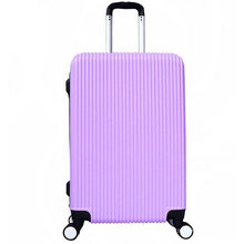 Moda ABS Trolley Case Doble fila Wheels Equipaje
