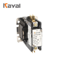 Free sample central air conditioner contactor  factory price 2 pole contactor 24 volt coil 4 pole contactor