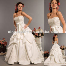 Sweetheart Neckline Off Shoulder Wedding Dress