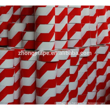 High yield strength red/white pe barrier tape