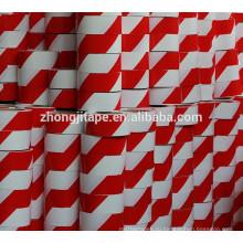 Высокой текучести красный/белый PE барьер ленты