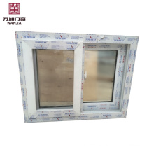 UPVC Material Sliding Windows,Double Glazed Of PVC Window