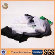 Color gradiere scarfnt woven thin cashmere scarf