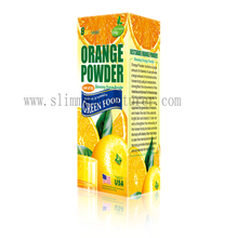 slimming orange juice powder